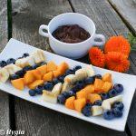 Pyszne owocowo – czekoladowe fondue